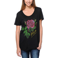 Obey Girls Let Them Bleed Black Beau Tee Shirt at Zumiez : PDP