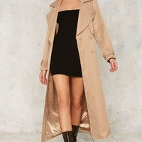 Sonya Maxi Trench Coat