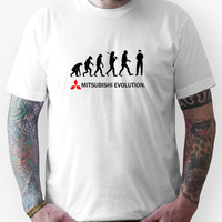 Mitsubishi Evolution Design 2 Unisex T-Shirt