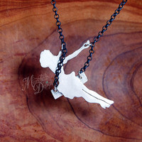 Made to Order  Original Sterling Silver Swinging Pinup by MarKhed