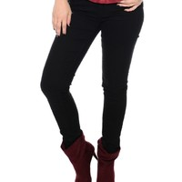 Black All Night Long Skinny Jeans   $11.50   Cheap Trendy Jeans Chic Discount Fashion for Women   M