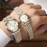 Rolex Couple Fashion Quartz Watches Wrist Watch