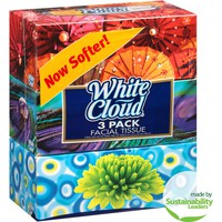 White Cloud Facial Tissue, 150 count, (Pack of, 3) - Walmart.com