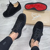 shosouvenir : Christian Louboutin CL New men's and women's Casual shoes