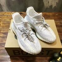 Yeezy Boost  Women Casual Shoes Boots fashionable casual leather Women Heels Sandal Shoes