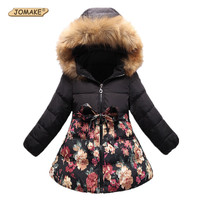 Girls Warm Coat Children's Parkas Winter Jackets for Girls Clothing Teenagers Girls Jacket Girls Clothes Kids 4-6-7-9-11-13Years