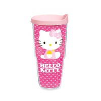 Tervis® Hello Kitty® Dots 24-Ounce Wrap Tumbler with Pink Lid