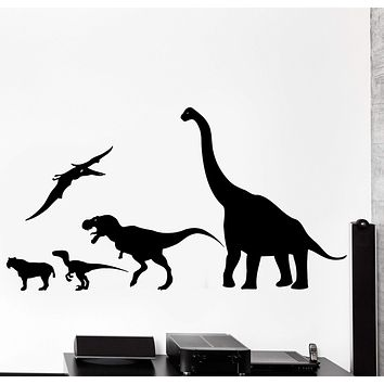 Wall Decal Dinosaur Animal Jurassic Period Dino Kids Decor Unique Gift z3993