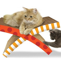Petstages Soothing Cat Easy Life Hammock And Scratcher