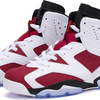 Bows & Arrows - Air Jordan 6 Retro (White/Carmine-Black)