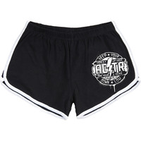 A Day To Remember Women's  Hopes Up High Booty Shorts Black