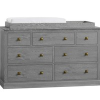 Charlie Extra Wide Dresser & Topper Set