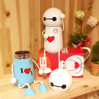 On Sale Coffee Hot Deal Cute Drinks Hot Sale Lovely Stainless Steel Children Cartoons Cup [6283330630]