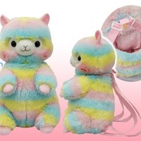 Amuse Alpacasso Rainbow Giant Backpack | LoveJojo.com
