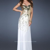 La Femme Dress 18603 at Peaches Boutique