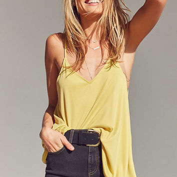 Silence + Noise Stella Strappy Swing Cami   Urban Outfitters
