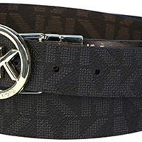 Michael Kors Womens Belt Black Large