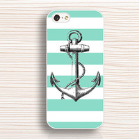 anchor  iphone case,iphone 5s case,line iphone 5 case,green iphone 5c case,anchor iphone 4 case,art iphone 4s case