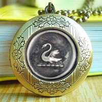 Emma Swan Once Upon A Time Inspired Glass Dome Necklace