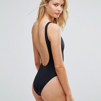 ASOS TALL Scoop Front Swimsuit Multipack at asos.com