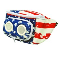 The Americana Bluetooth Fanny Pack