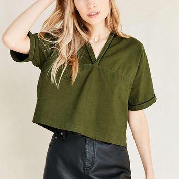 Vintage Swedish V-Neck Top - Urban Outfitters