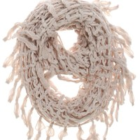 With Love From CA Open Knit Infinity Scarf - Womens Scarves