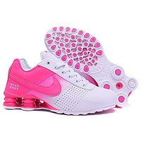 Nike SHOX Women Men Fashion Casual Sneakers Sport Shoes