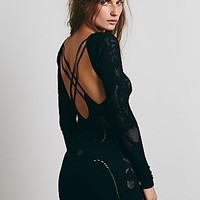 Intimately Womens Textured Back Detail Romper