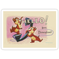 Hello Chip 'n' Dale
