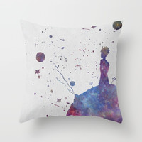 The Little Prince Throw Pillow by hawklawson