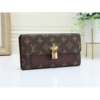 LV hot selling printed patchwork color shoulder bag fashion casual lady shopping bag #7