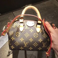 Tagre™ LV Louis Vuitton Women Shopping Leather Tote Crossbody Satchel Shoulder Bag Day-First™