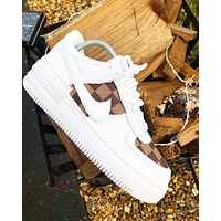 LV*NIKE Air force one Fashion casual shoes