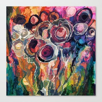 Floral Abstract by Lena Owens/OLenaArt