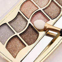 Maquiagem Brand Make Up Eyeshadow Palette 1 PC Diamond Glitter Eyeshadow Naked Palette Makeup Sombra Chocolate