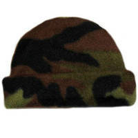 Baby Boys' Camouflage Fleece Baby Hat