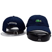 Lacoste Women Men Embroidery Hip Hop Sport Baseball Cap Hat