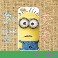 Despicable Me  -- iPhone 4 case , iphone 5 case , ipod touch 4 / 5 case, samsung galaxy S3 / S2 case in black or white