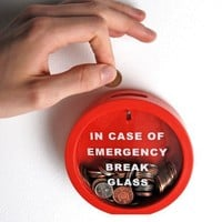 Emergency Money Box (by Suck UK)