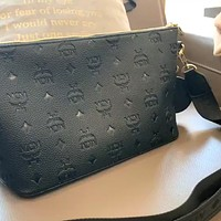 MCM embossed logo belt bag chest bag shoulder messenger bag