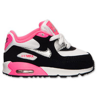 Girls' Toddler Nike Air Max 90 Running Shoes