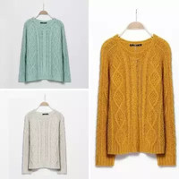 Twist Pullover knited Sweater