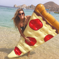 Pool Float- Pizza