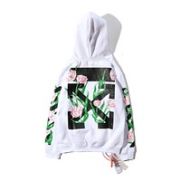 OFF-WHITE Fashion Sweatshirt Hooded