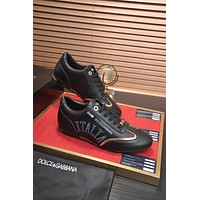 DG  Men Fashion Boots fashionable Casual leather Breathable Sneakers Running Shoes0424dp