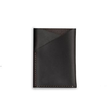 Black Cash and Card Pouch