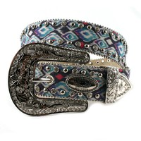 Katydid Rhinestone with Studs Fashion Women's Belt