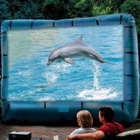 Inflatable Screen & Projector |  SkyMall