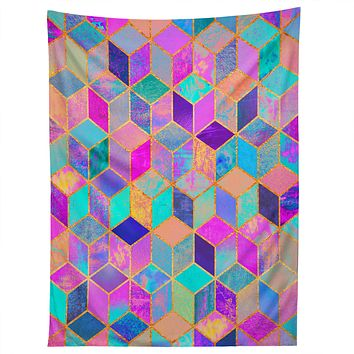 Elisabeth Fredriksson Pretty Cubes Tapestry